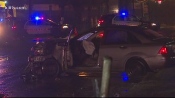 Police say alcohol played a role in Wednesday morning car crash