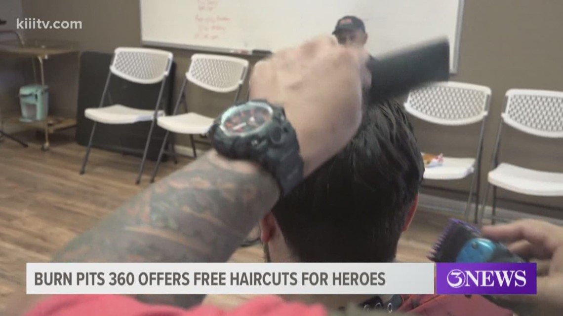 Burn Pits 360 hosts 'Haircuts for Heroes' for veterans, first repsonders