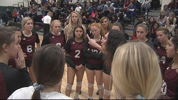 Volleyball Region Quarterfinals - Highlights and Scores