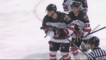 IceRays Extend Series with Game 3 Win Over Mudbugs