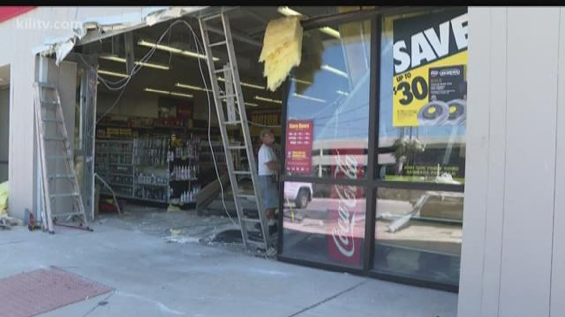 Truck Used As Battering Ram In Burglary Attempt At Auto Parts Store
