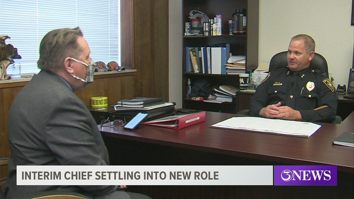 Interim Corpus Christi Police Chief discusses his tenure, gangs, new police station