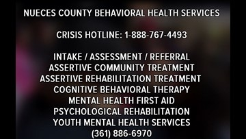 Local resources to help someone with suicidal thoughts