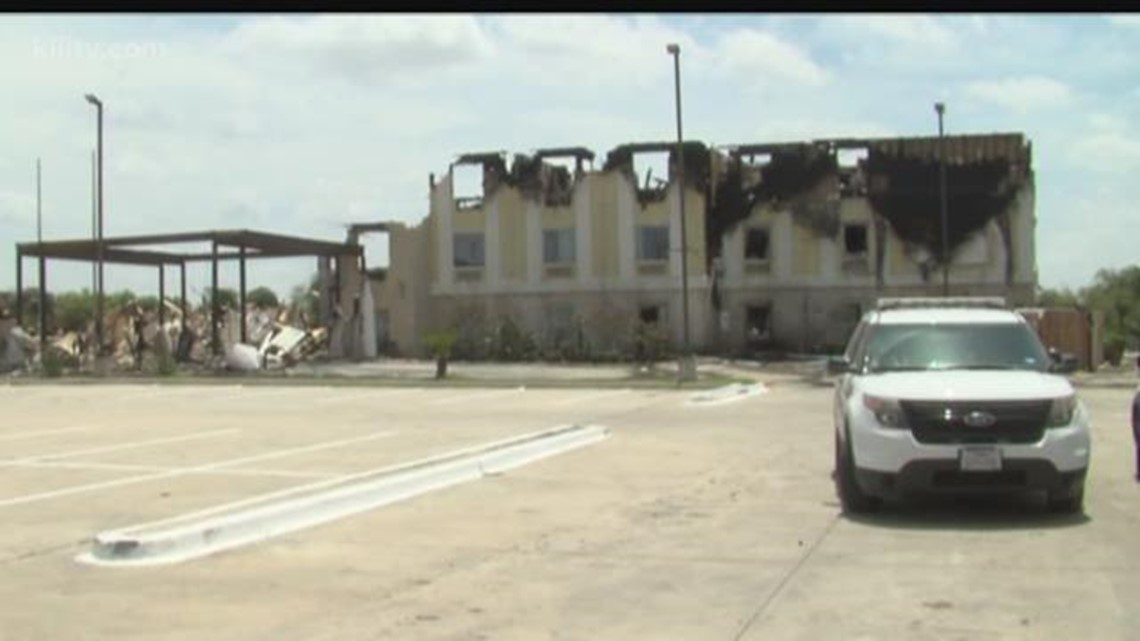 Owners Salvage Items From Falfurrias Hotel Destroyed In Fire Kiiitv