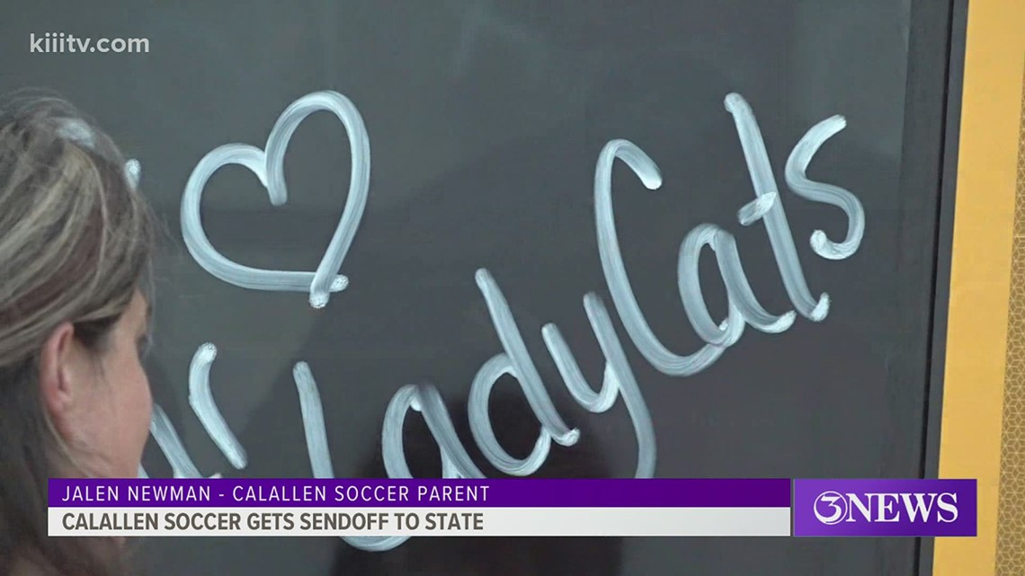 Calallen soccer gets sendoff to state championship - 3Sports