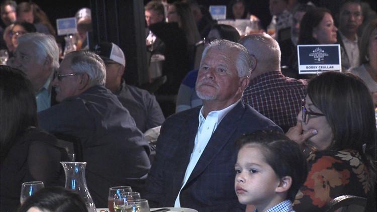 Cuellar honored at South Texas Winter Baseball Banquet
