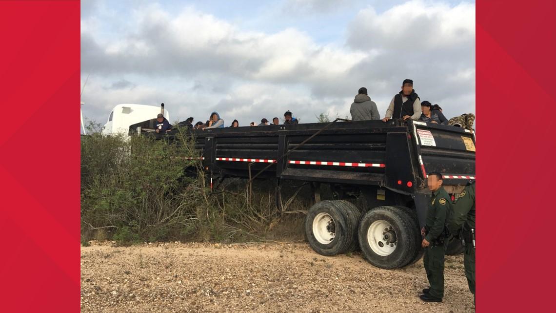 Border Patrol apprehends 75 illegal aliens and seize a large amount of marijuana