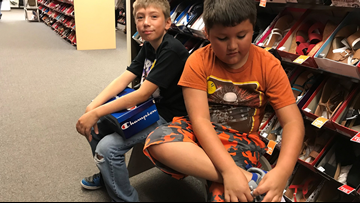 Kids get free shoes thanks to Walk with Pride Foundation Program