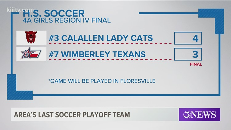 Calallen girls soccer team advances to state semi-final