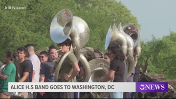 Alice High School band to perform at Memorial Day Parade in Washington D.C.