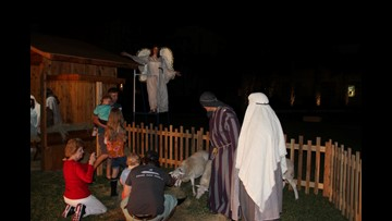 Get in the Christmas spirit with First Baptist's live nativity scene