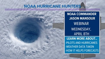 Hunting hurricanes with a NOAA Pilot