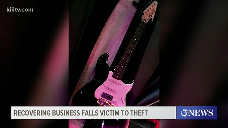Guitars stolen from recovering small business in Corpus Christi