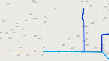 TxDOT: FM 1329 in Duval County closed