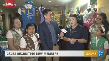Girl Scouts of Greater South Texas recruiting