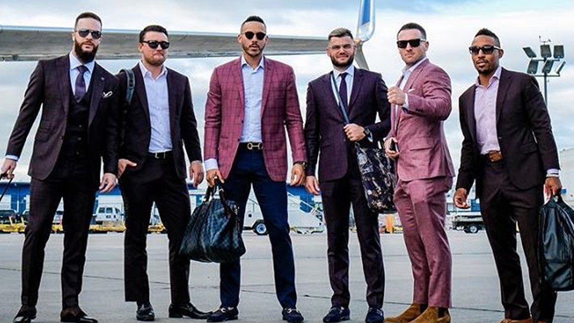 PHOTOS: Astros look more like GQ models for final regular ...