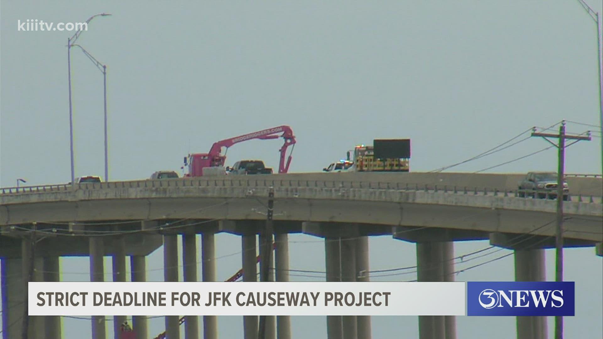 Bridge Construction In Corpus Christi Texas | kiiitv.com