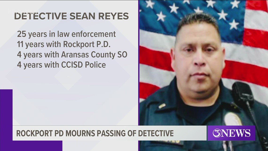 Detective Steven Reyes with the Rockport Police Department dies