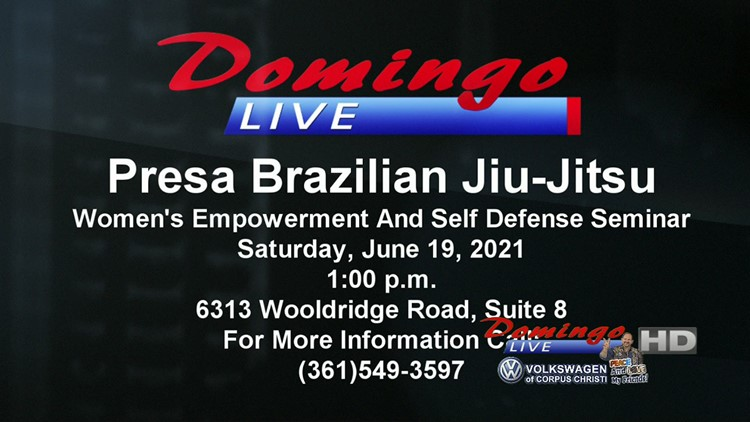 Domingo Live: Presa Brazilian Jiu-Jitsu-  Women's Empowerment/ Self Defense Seminar