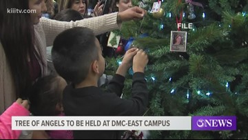Venue changed Nueces County's 22nd annual Tree of Angels ceremony