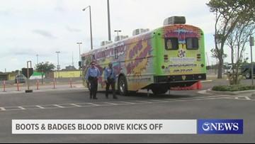 Boots & Badges Blood Drive kicks off at Whataburger