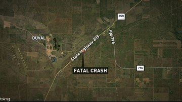 DPS investigating fatal crash on State Highway 359 near Duval County