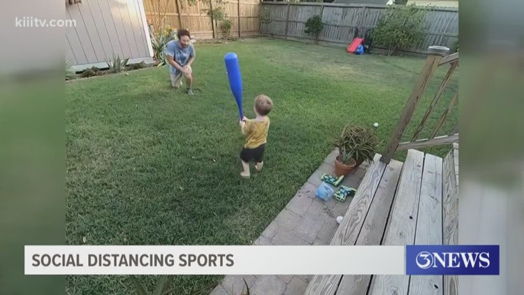 Social Distancing Sports: Your at home videos!