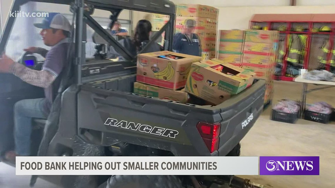 Coastal Bend Food Bank helping small counties affected by winter storm