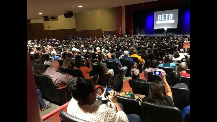 El Paso Congressman Beto O'Rourke returns to Corpus Christi.