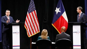 TEXAS DEBATE PREVIEW: Cruz, O'Rourke battle down stretch in closely watched Senate race