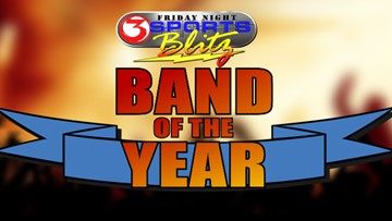 "Friday Night Sports Blitz ""Band of the Year"": vote now!"