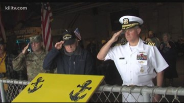 U.S.S. Lexington honors veterans from World War I