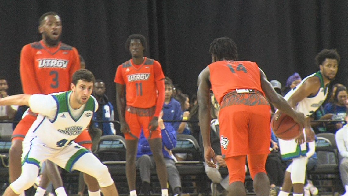 A&M-CC Men's basketball handed first loss of season