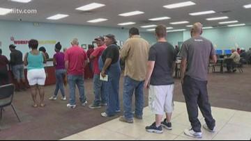 Texas, Coastal Bend unemployment rate down