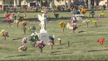 Man, woman arrested for grave robbing at Memory Gardens