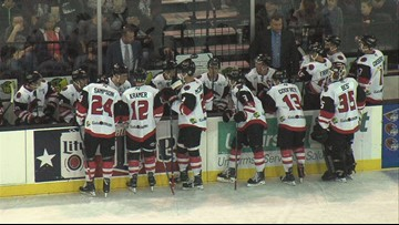 IceRays will host teddy bear toss to benefit the Coastal Bend community