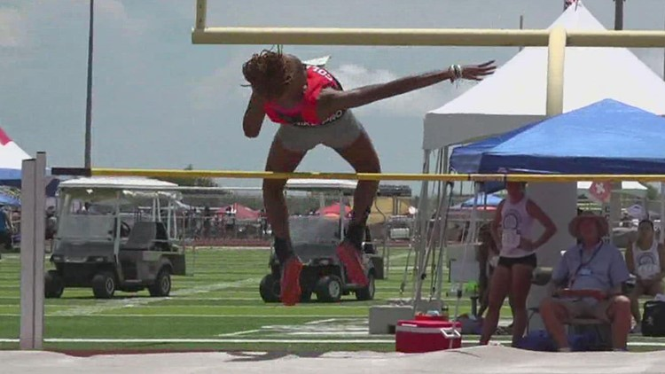 Athletes in the TAAF Games compete against the South Texas heat