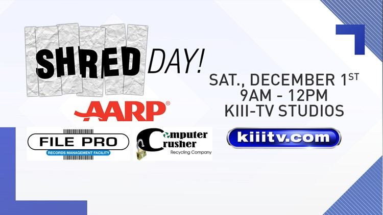 Destroy unwanted documents, hard drives at Shred Day, Dec. 1
