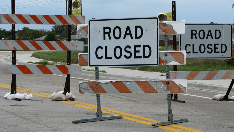 Airline Rd. from SPID to McArdle Rd. to completely close during overnight hours until Friday