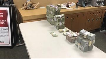 Half a million dollars found during traffic stop near Kingsville