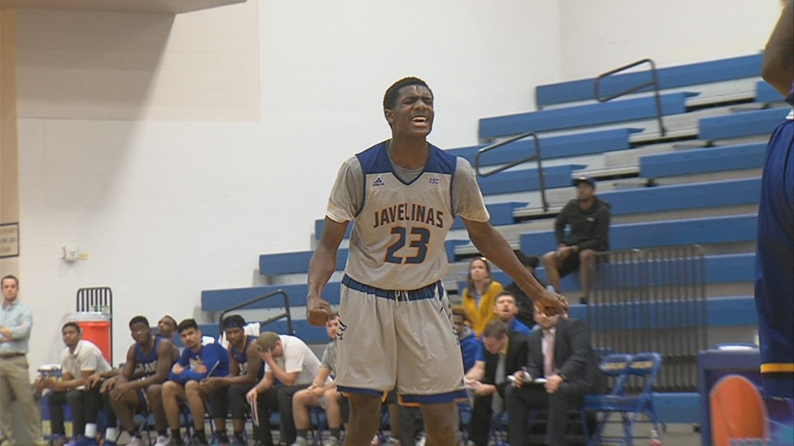 Javelinas comeback efforts fall short to Angelo State