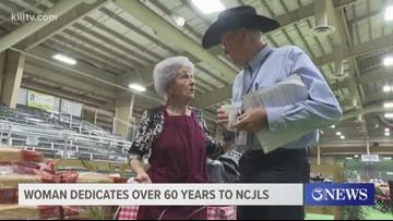 Woman dedicates over 60 years to Nueces County Junior Livestock Show
