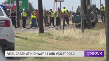 Driver killed after crashing into semitruck at Highway 44, Violet Road intersection