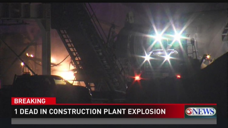 Update: Early Morning Explosion