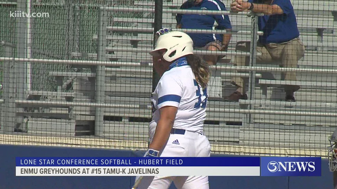 TAMU-K softball sweeps ENMU with run rule wins - 3Sports