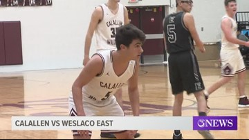 Day 2 of the Calallen Christmas Classic - 3Sports