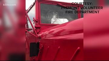 Premont volunteer fire trucks vandalized