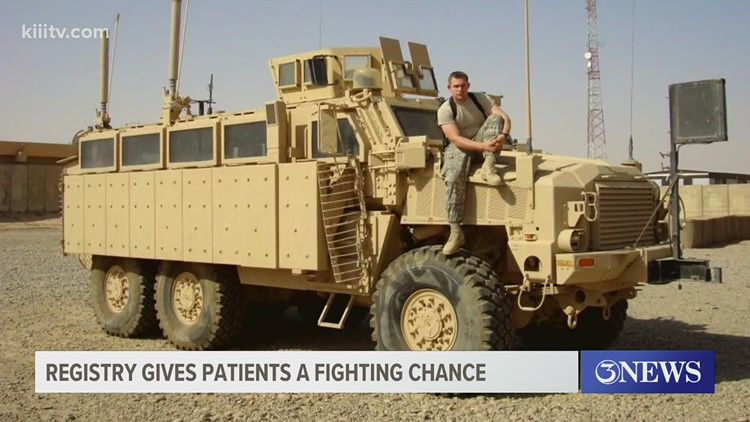 Veteran's selfless act gives Leukemia patient halfway around the world a fighting chance, encourages others to donate