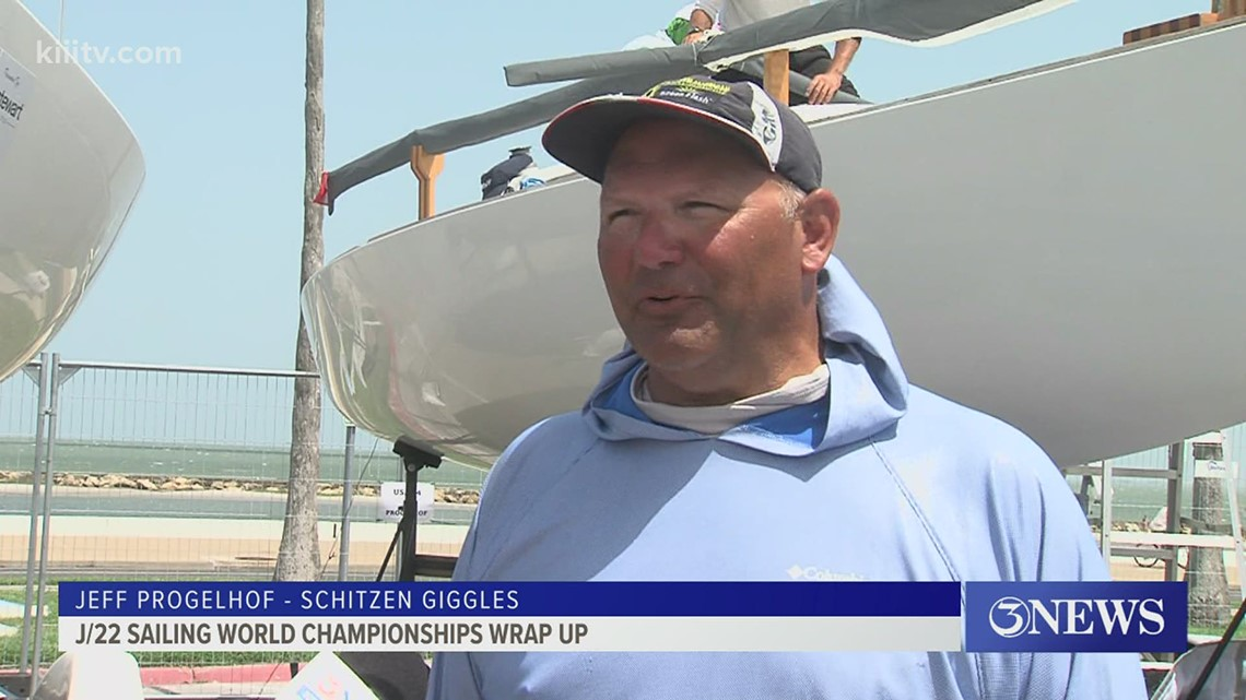 J/22 champ Progelhof talks about the sailing  this week in CC - 3Sports