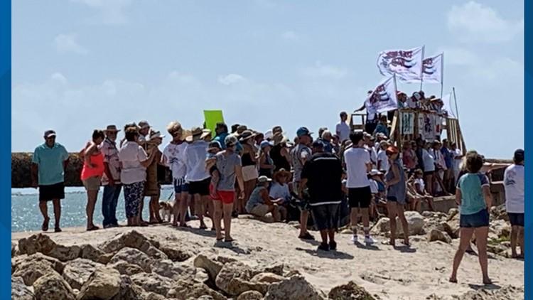Keep Her Wild rally in Port Aransas